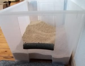 Katzentoilette selbstgebau